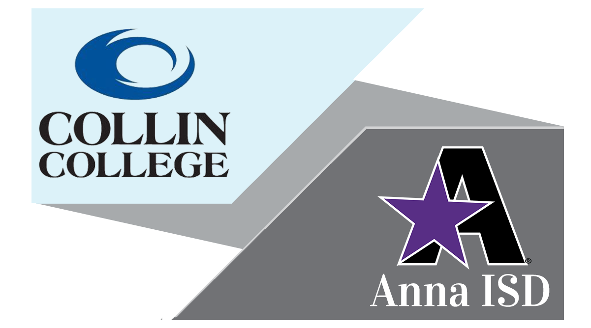 Collin College Logo and Anna ISD Logo