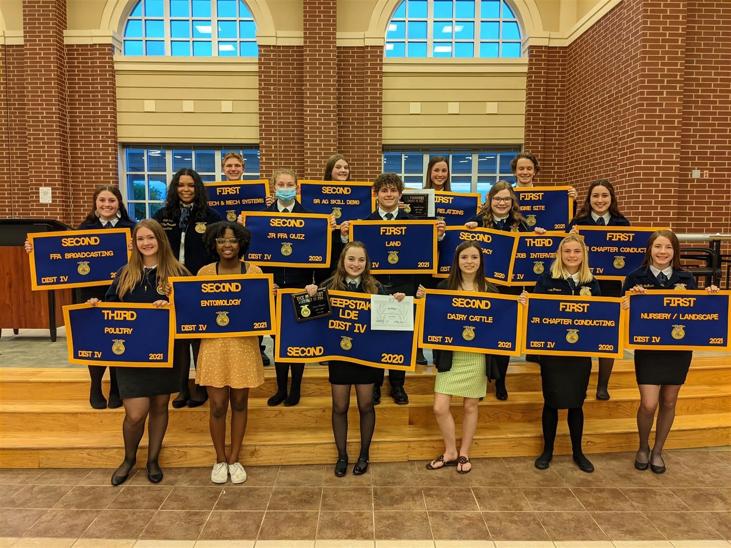 District 4 FFA Group